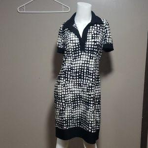 Chaps Ladies Dress Short Sleeve Sz PM